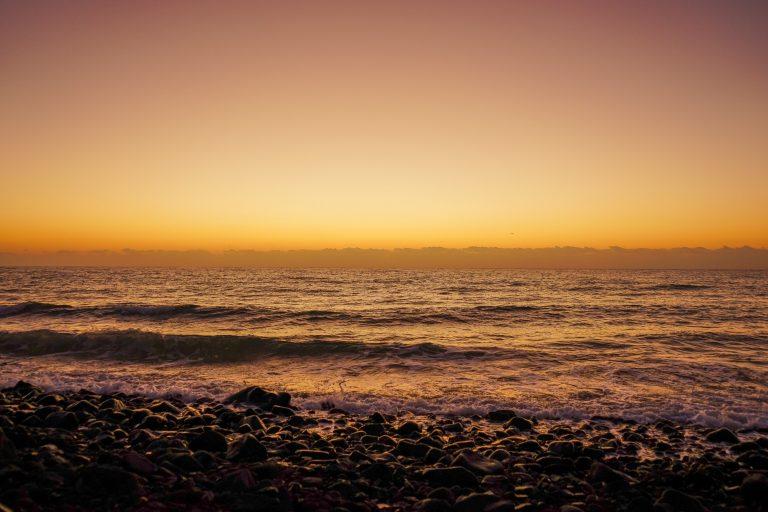 Fotografieren eines Sonnenaufgangs auf Fuerteventura