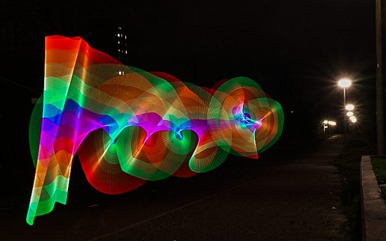 Pixelstick, die neue Art mit Licht zu malen