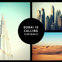 DUBAI IS CALLING 11.02-18.02.17